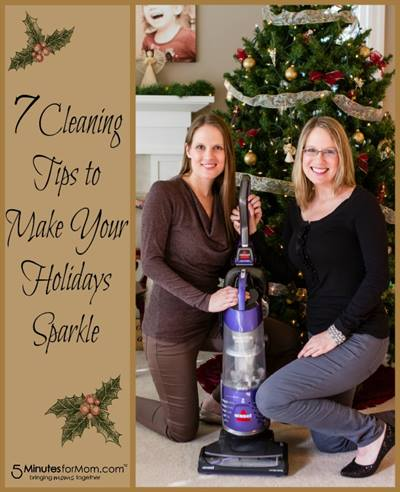 Susan and Janice - 7 Cleaning Tips to Make Your Holidays Sparkle