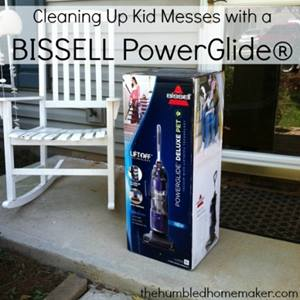 Cleaning Up Kid Messes with a BISSELL PowerGlide