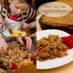 Build Your Own Fruit Crisps for KIDS