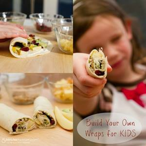 Build Your Own Wraps for KIDS