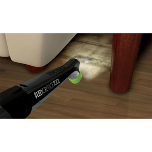Pet Hair Eraser Pro 1650E BISSELL Upright Vacuums LED Crevice Tool