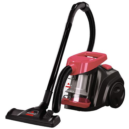PowerForce Bagless Canister Vacuum 16653 BISSELL Canister Vacuums Angle