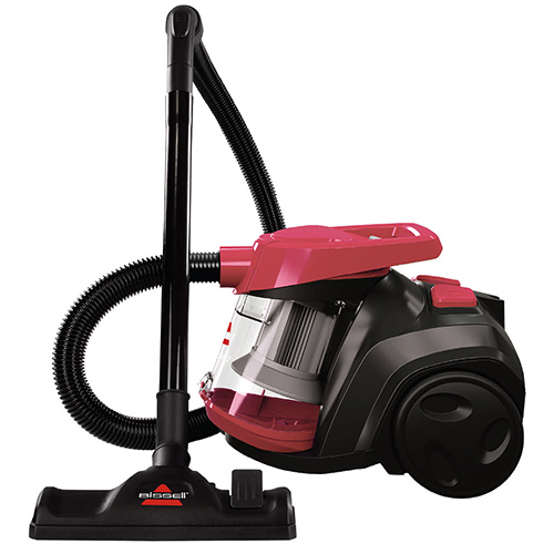 PowerForce Bagless Canister Vacuum 16653 BISSELL Canister Vacuums Entire Side