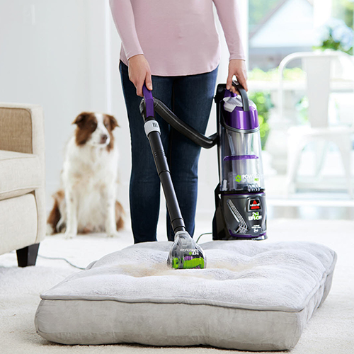 PowerGlide Lift Off Pet Vacuum Cleaner Pet Bed Vacuuming