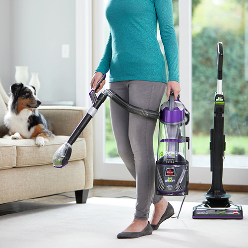 PowerGlide Lift Off Pet Vacuum Cleaner Handheld Pod Carrying