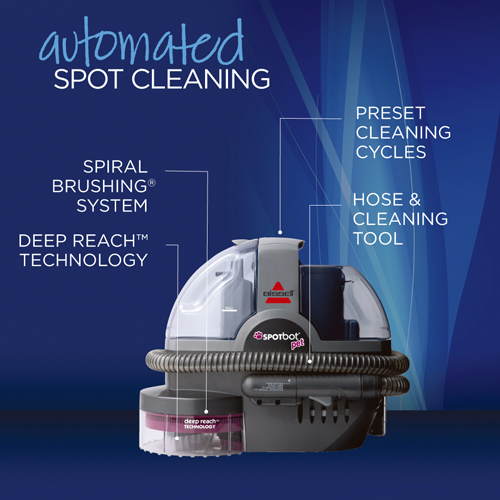 33N8 SpotBot Pet Portable Carpet Cleaner Product Features