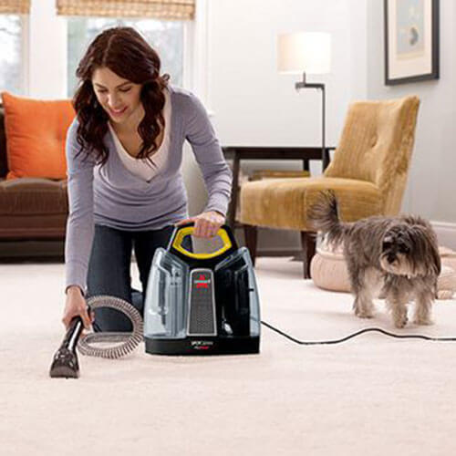 SpotClean Advance Portable Carpet Cleaner 5207J BISSELL Carpet