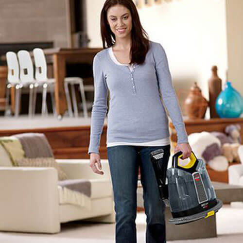 SpotClean Advance Portable Carpet Cleaner 5207J BISSELL Lightweight