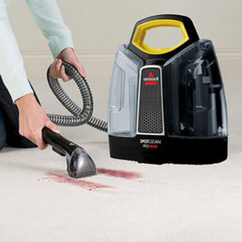 SpotClean Advance Portable Carpet Cleaner 5207J BISSELL Stain
