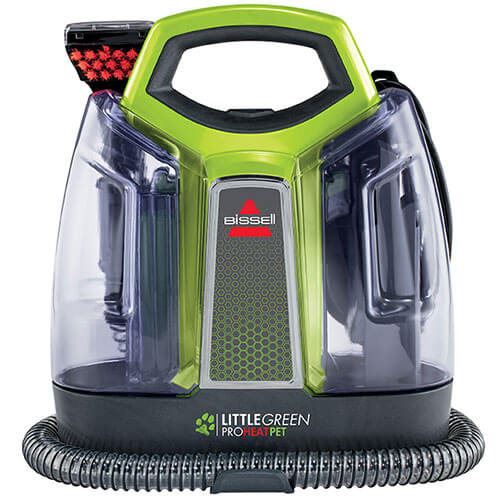 bissell little green machine bissell green proheat pet 5207m portable carpet 29269
