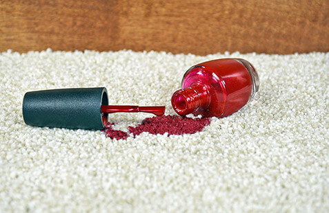 How to Get Nail Polish out of Carpet and other Fabrics
