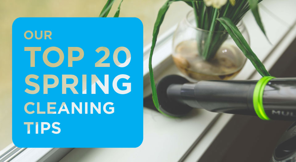 20 Spring Cleaning Tips from BISSELL