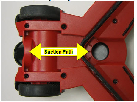 76T8 suction path