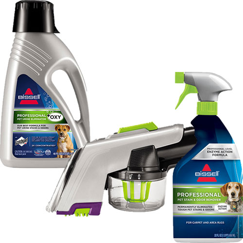 pet upholstery tool bundle for upright carpet cleaners