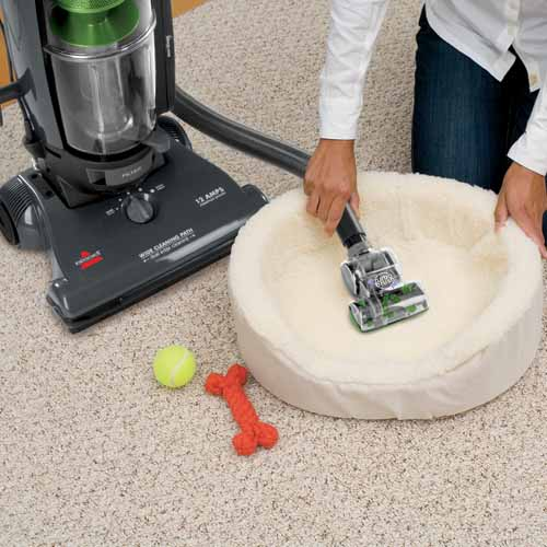 PowerGlide Pet Vacuum 1044 Cleaning Pet Bedding