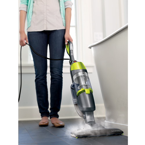 Symphony Vacuum and Steam Mop Steam Boost 11322 steam clean