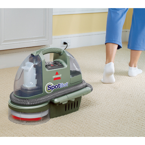Spotbot Portable Carpet Cleaner 12005 Hands Free Cleaning
