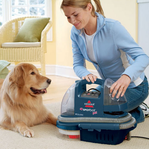 Spotbot Pet Portable Carpet Cleaner 12006 Bissell