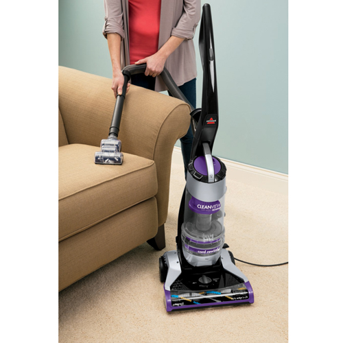 CleanView Deluxe Rewind Upright Vacuum 1322 Upholstery Cleaning