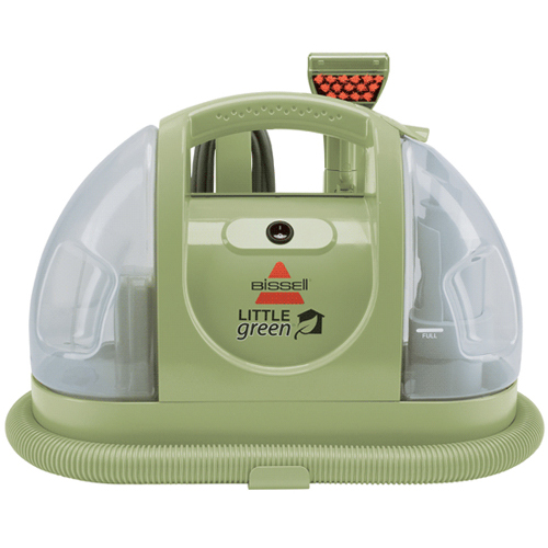 Little Green Portable Carpet Cleaner Front 1400b Bis Spray