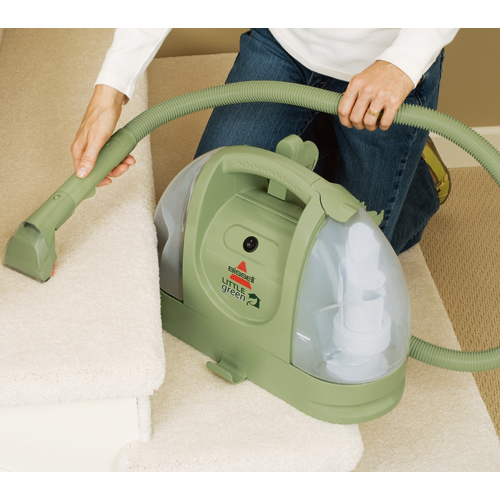 little green portable upholstery cleaner bissell cleaners. Black Bedroom Furniture Sets. Home Design Ideas