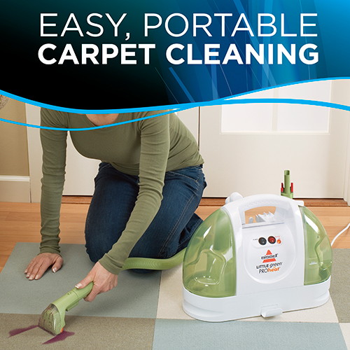 little green proheat portable carpet cleaner easy Cleaning