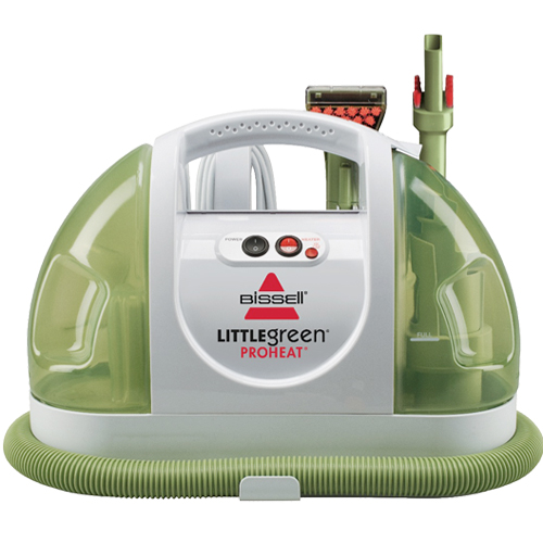 little green proheat portable carpet cleaner 14259