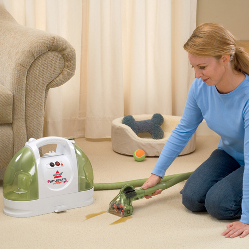 little green proheat portable carpet cleaner Spot and Stain Cleaning
