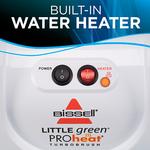 little green proheat portable carpet cleaner Water Heater