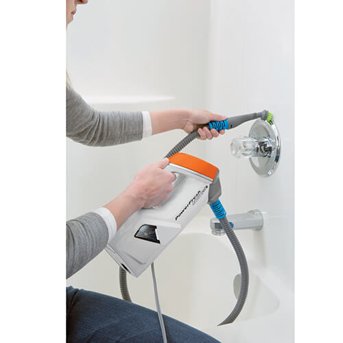 PowerFresh Lift Off Steam Cleaner hand Steamer shower cleaning