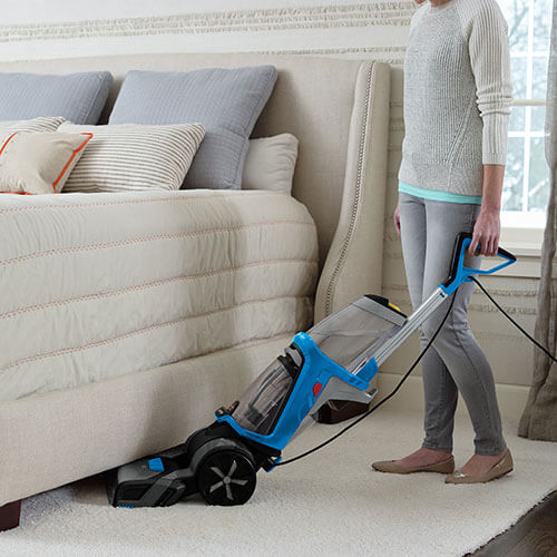 ProHeat 2X Revolution 15506 BISSELL Carpet Cleaners Under Bed