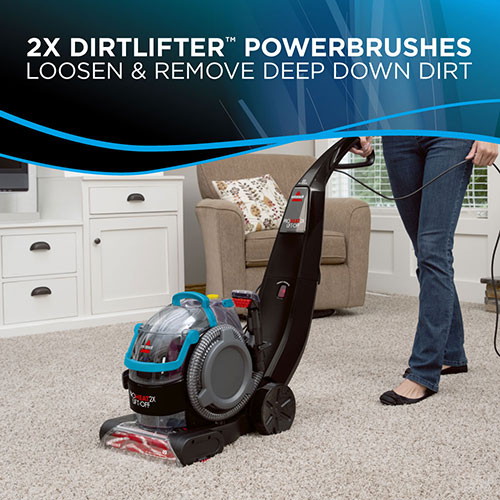 Proheat 2X Liftoff Carpet Cleaner 1565 dirtlifter powerbrushes
