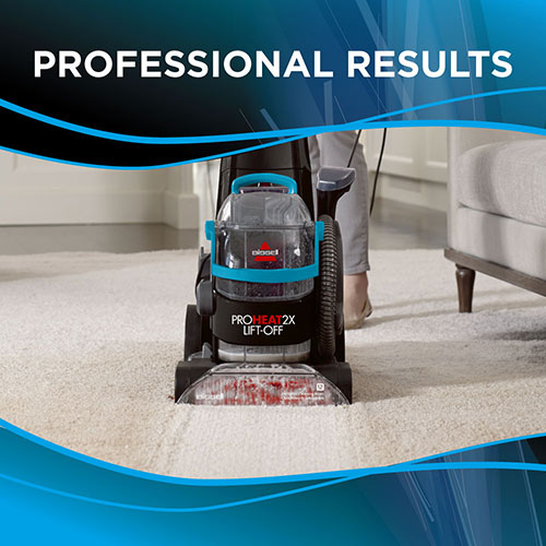 Proheat 2X Lift Off Upright Carpet Cleaner 1565 BISSELL