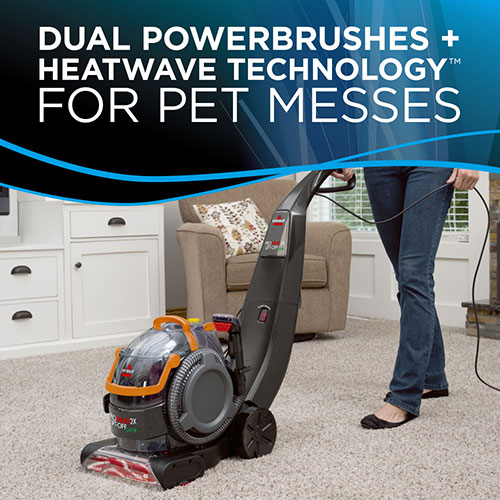 ProHeat 2X LiftOff Pet Upright Carpet Cleaner 15651 pet messes