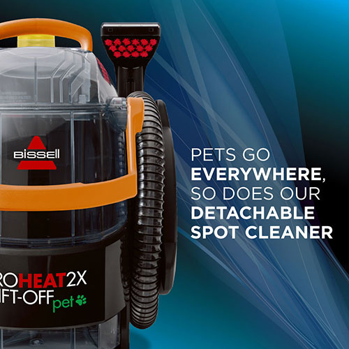 ProHeat 2X LiftOff Pet Upright Carpet Cleaner 15651 portable pod