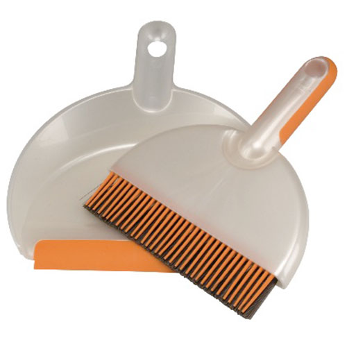 Mini dustpan and hand broom set 1745 detached