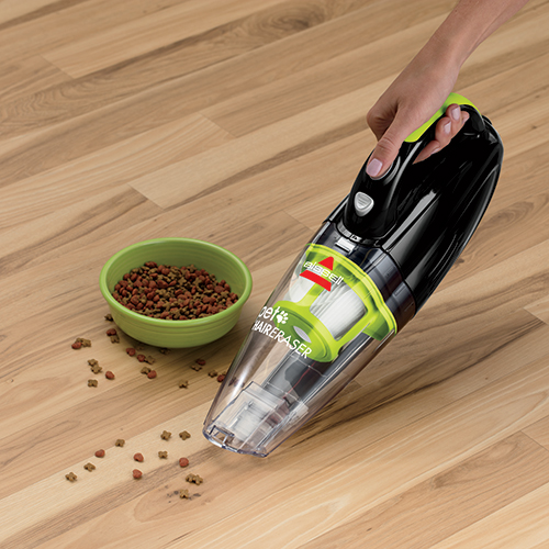 Pet Stain Eraser Hand Held Cordless Vacuum Pick Up Kibble