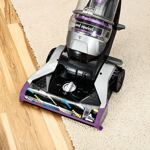 Cleanview Rewind Deluxe Vacuum Cleaner Carpet Bare Floor