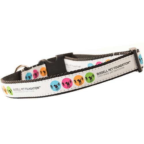 BISSELL Pet Foundation Medium Large Dog Collar 195271 AdoptBox