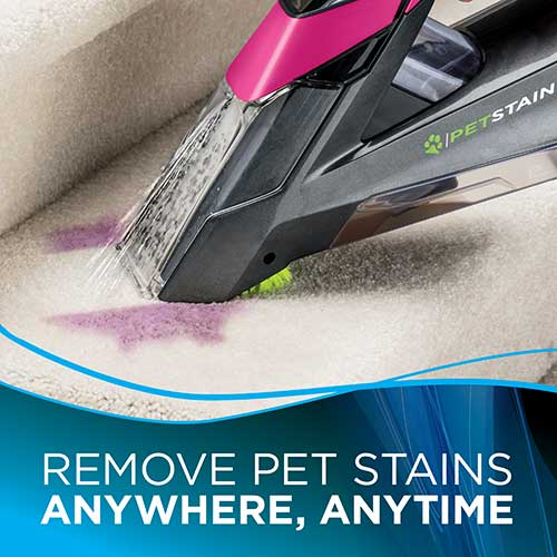 Pet Stain Eraser 2002 BISSELL Portable Carpet Cleaners Stairs