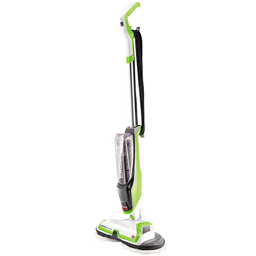 Bissell Hardwood Floor Cleaner bissell steam sweep hard floor cleaner Bissell Spinwave Hard Floor Cleaner Left View Side