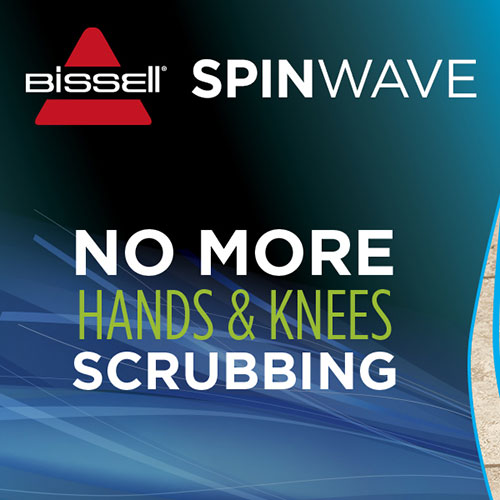 SpinWave Spinning Mop for no more hands and knees scrubbing
