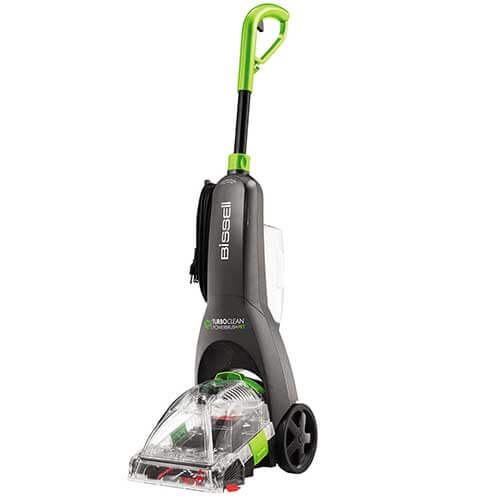 how to clean bissell 1309 brush