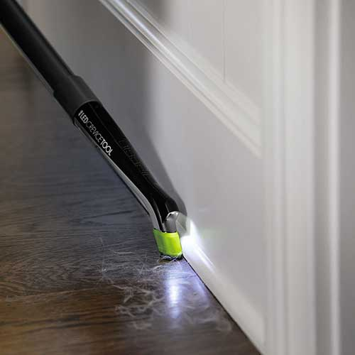 Pet Hair Eraser Pet Vacuum Cleaner LED Crevice Tool Baseboards