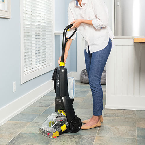 PowerForce PowerBrush 2089 BISSELL Carpet Cleaner Handle Up