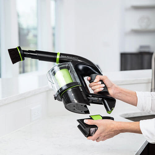 Multi Reach Cordless Vacuum Change Battery