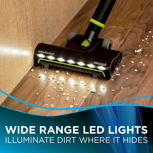 Multi Reach Cordless Vacuum Hard Floor Lights