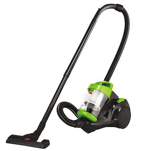 Zing Bagless Canister Vacuum Left Angle