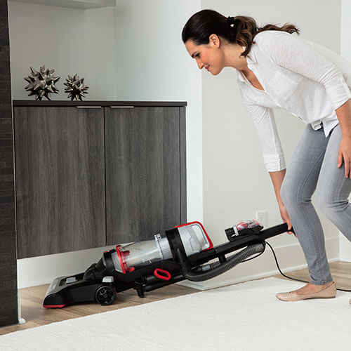 under cabinet vacuum powerforce 174 helix turbo bagless upright vacuum 2190 27545