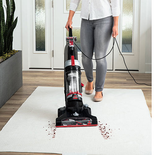 PowerForce Helix Turbo 2190 BISSELL Vacuum Cleaner Easy Wash Entry Rug